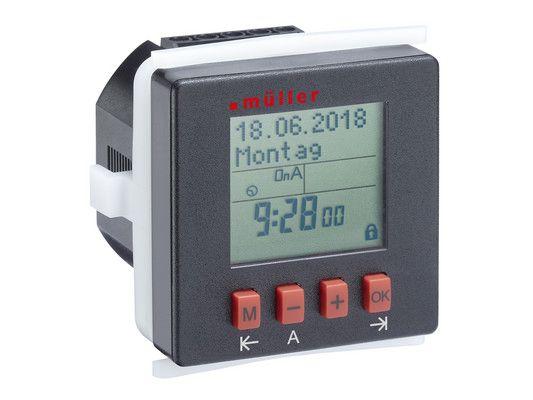 Digital weekly timer, digital astro timer, digital yearly